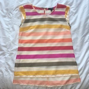 The Limited Multicolor Striped Blouse